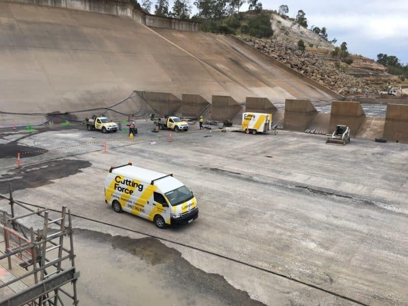 Cutting Force Drilling Dam floor