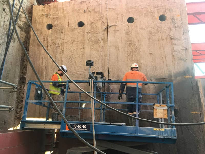 Cutting Force Wire Sawing CYP Station Wall Removal