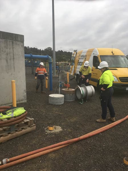 Gippsland Water Factory Large Core Hole